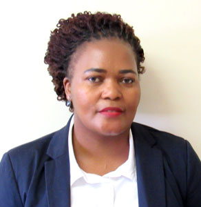 Ms Liziwe Mhatu - Manager - Administration