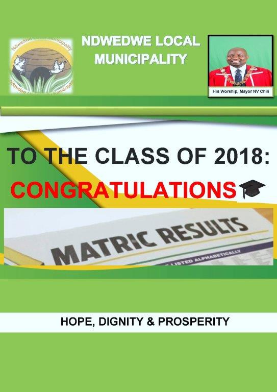 Mayor's Message to Matriculants